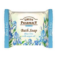 Туалетное мыло. Green Pharmacy. Голубой ирис с маслом арганы 100 г