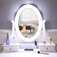 Туалетный столик с зеркалом Helena с подсветкой Польша