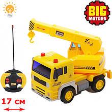 Іграшка автокран на радіокеруванні (WY1510D), Big Motors