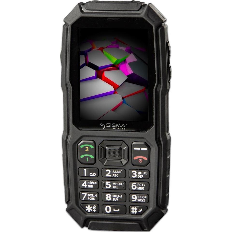 Кнопочный телефон Sigma X-treme ST68 Black