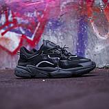 Мужские кроссовки в стиле Adidas Ozweego (Black), Адидас Озвиго (Реплика ААА), фото 2