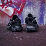 Мужские кроссовки в стиле Adidas Ozweego (Black), Адидас Озвиго (Реплика ААА), фото 4
