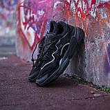 Мужские кроссовки в стиле Adidas Ozweego (Black), Адидас Озвиго (Реплика ААА), фото 5