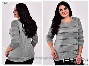 Женская блузка ботал 48-52 № 8985