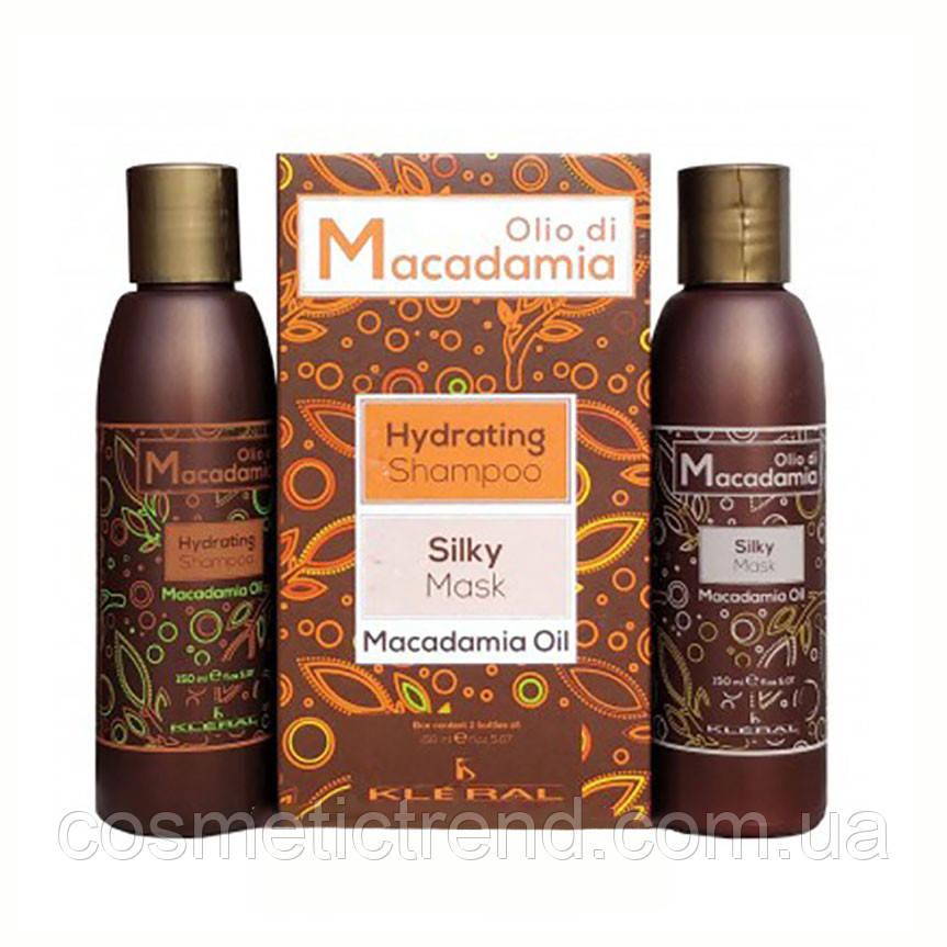 KLERAL SYSTEM Makadamia-Oil  Набор для волос с маслом макадамии (шампунь 150 мл+маска 150 мл)