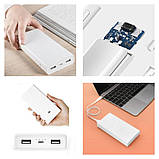 Портативная батарея Xiaomi Mi Power Bank 2C 20000mAh c быстрой зарядкой QC3.0 Оригинал. Повербанк, аккумулятор, фото 2