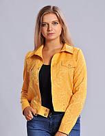 Модный женский пиджак на кнопках
