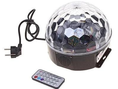 Дисколампа светодиодная Crownberg Disco CB 0305 KTV Ball