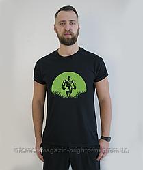 """Чоловіча футболка з принтом """"Халк"""""""