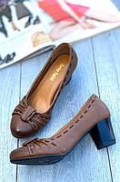 Туфли женские 8 пар в ящике коричневого цвета 36-40, фото 2