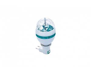 Дисколампа светодиодная с патроном Crownberg Disco CB 0301 Lamp