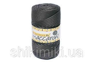 Трикотажный шнур PP Macrame Medium, цвет Стальной