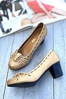 Туфли женские 8 пар в ящике бежевого цвета 36-40, фото 2