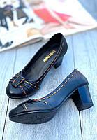 Туфли женские 8 пар в ящике черного цвета 36-40, фото 2