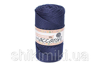 Трикотажный шнур PP Macrame Medium, цвет Темно-синий