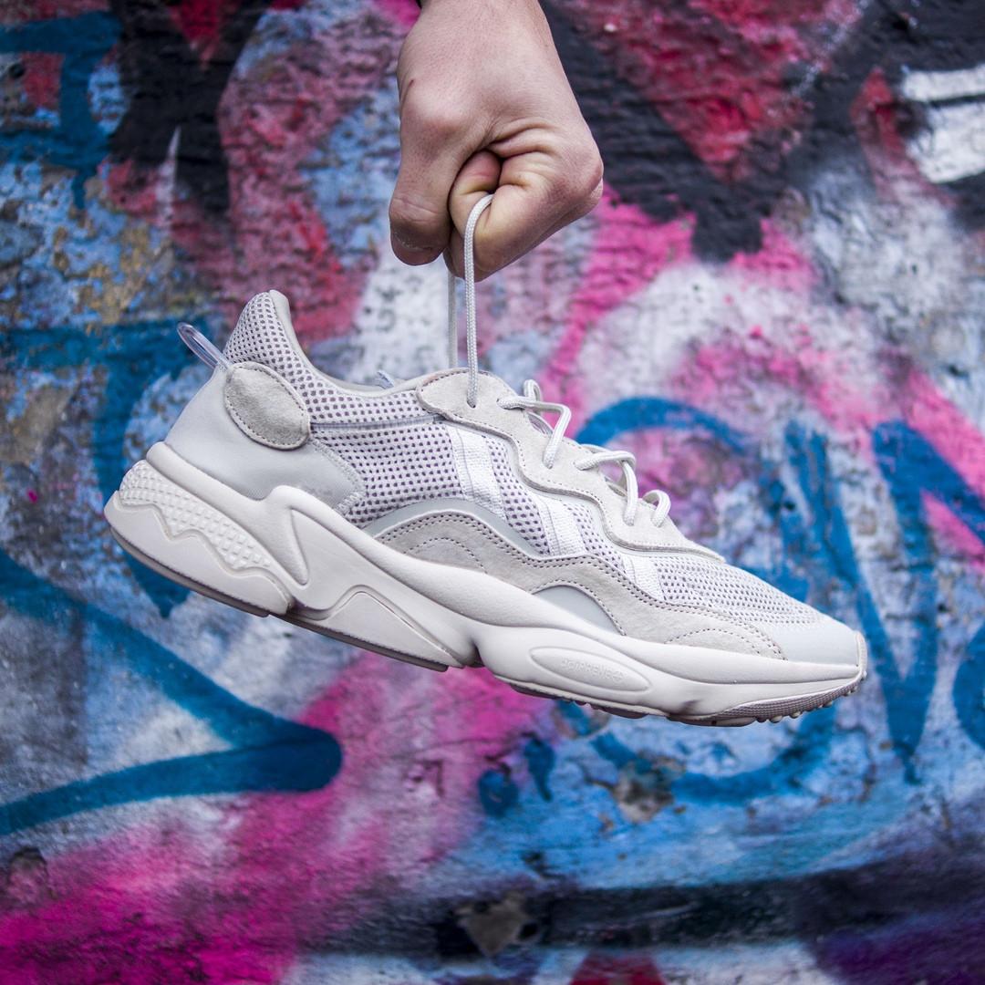 Мужские кроссовки в стиле Adidas Ozweego (Beige), Адидас Озвиго (Реплика ААА)