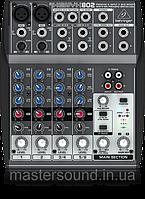Микшерный пульт Behringer XENYX 802 Phantom