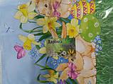 Салфетка дорожка пасхальная на стол (раннер) 47*140, фото 3