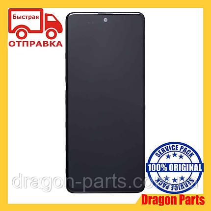 Дисплей Samsung A515 Samsung A51 с сенсором Черный, Белый, Голубой оригинал , GH82-21669A, фото 2