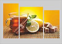"""Картина на кухню с качественной уф печатью """"Чай с корицей"""", фото 1"""