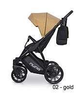 Детская прогулочная коляска Riko Nuno 02 Gold