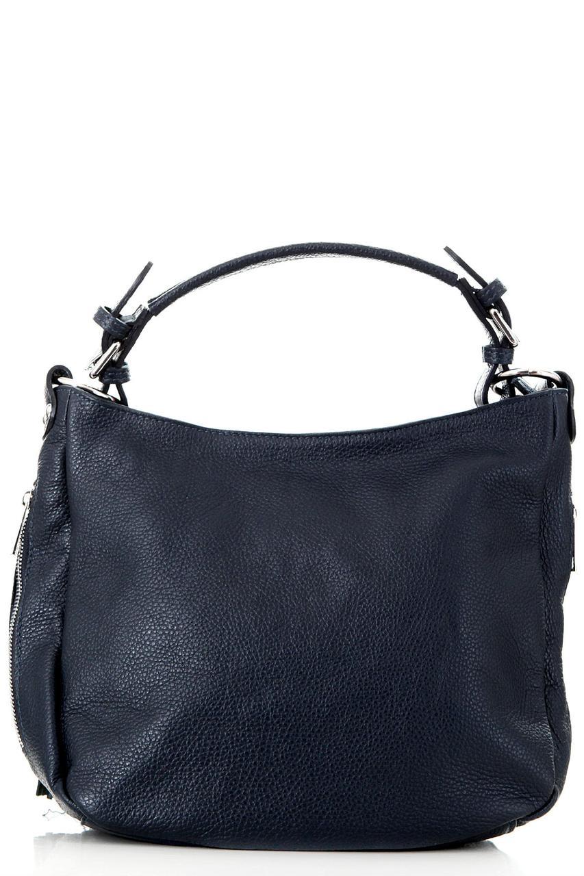 Синя компактна сумка-шопер KARLOTTA diva's Bag темно-синя