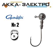Джиг-головка Gamakatsu н/кр №2 | 7г | 25шт