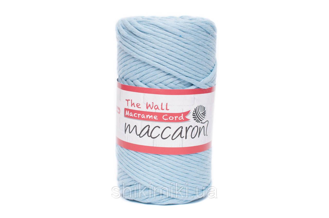 Эко шнур Macrame Cord 3 mm, цвет Голубой