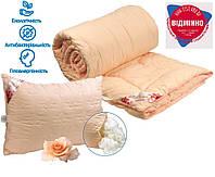 Набор Одеяло + Подушка полуторный 140x205 Троянда 200г/м2