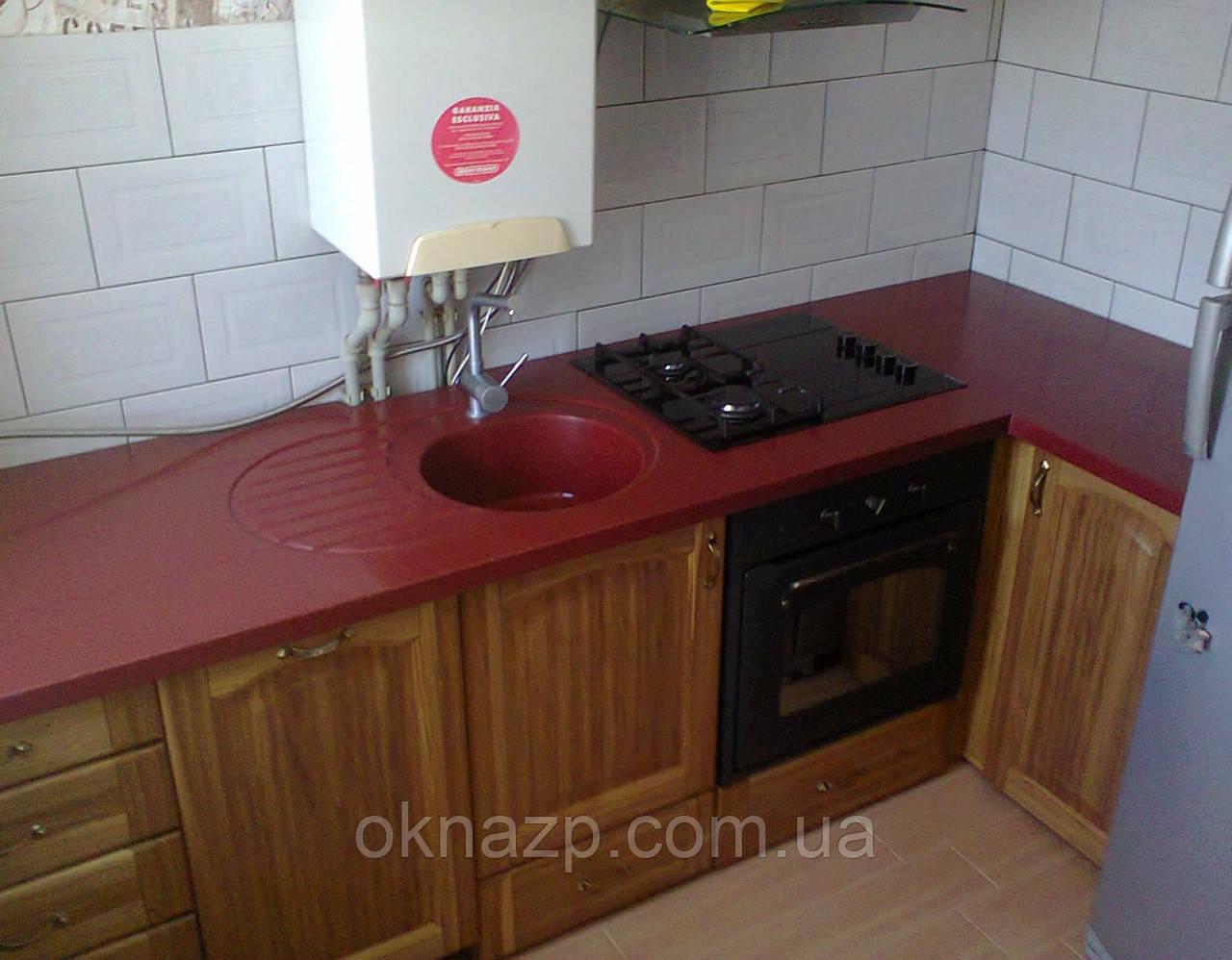 Стільниця з мийкою + стіл (лита мийка+ 2700грн./шт. додатково)