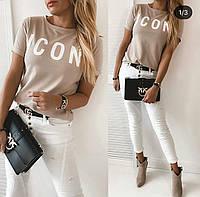"""Женская футболка  """"ICON"""""""