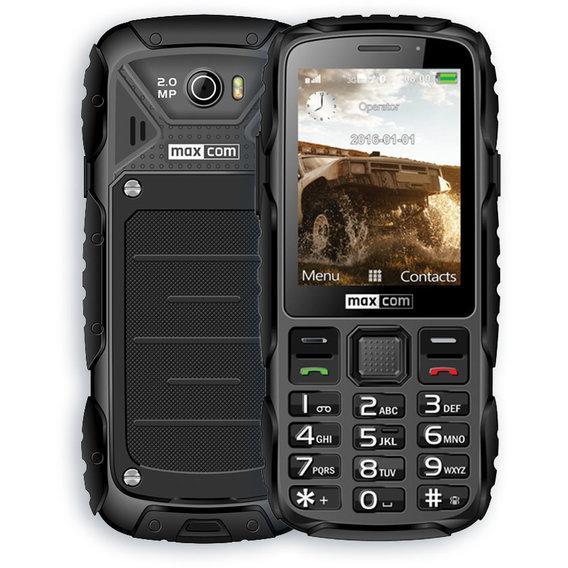 Кнопковий телефон Maxcom MM920 Black