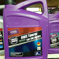 Синтетическое моторное масло OWS Tourer DLS SAE 5W-30 (4л)