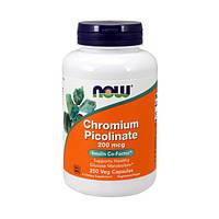 Пиколинат хрома Chromium Picolinate 200 mcg 250 caps NOW