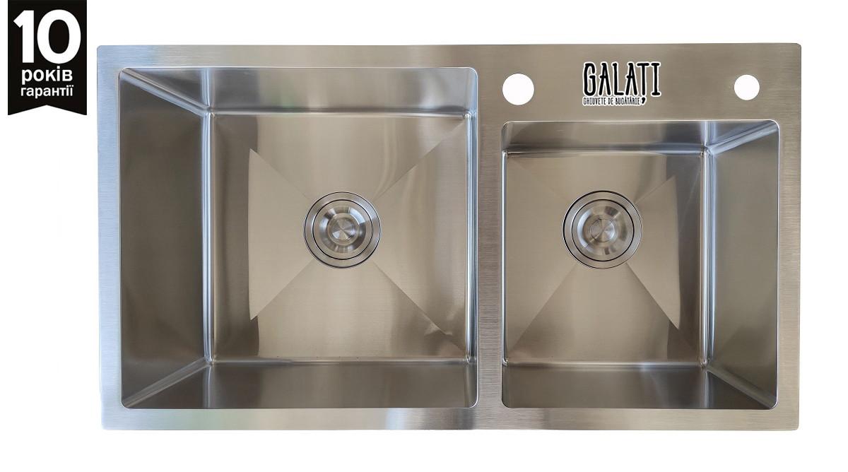 Кухонная мойка GALATI Arta U-700D (750*430*230)