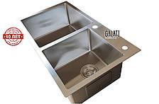 Кухонная мойка GALATI Arta U-700D (750*430*230), фото 2