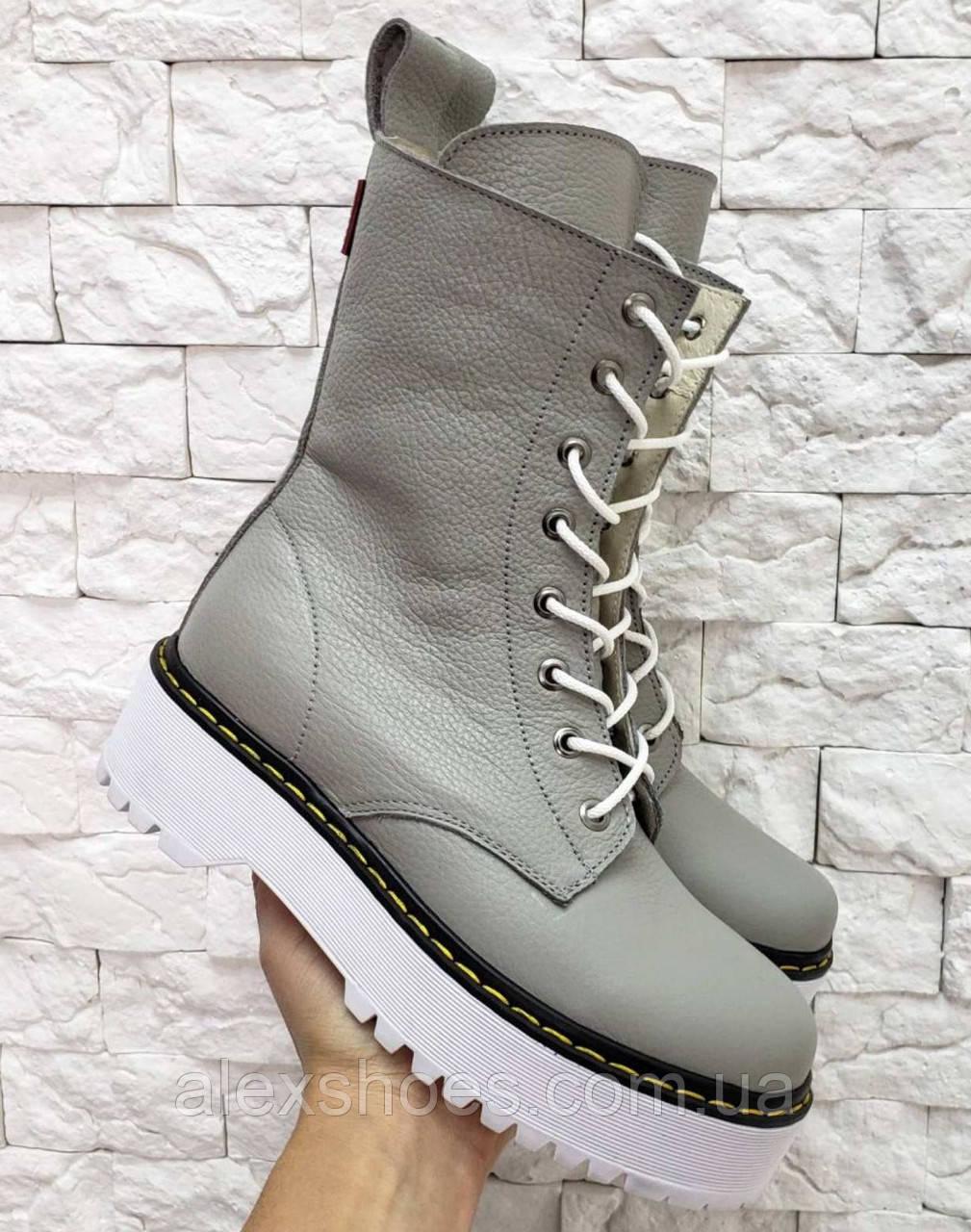 Ботинки молодежные демисезонные из натуральной кожи от производителя модель МАК2062-4