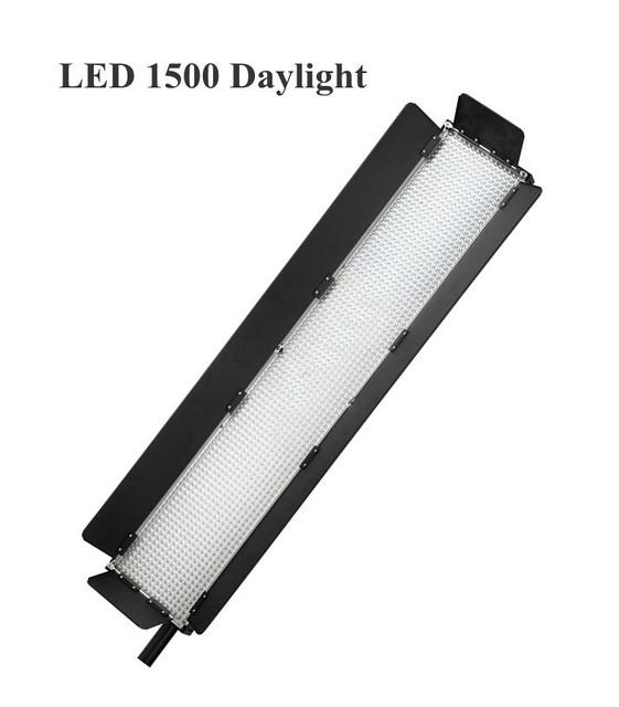 Постоянный студийный свет Lishuai LED-1500 + штатив + филтры