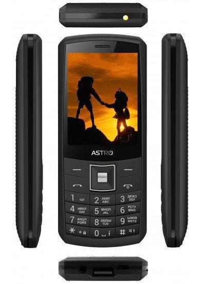 Кнопочный телефон ASTRO A184 Black