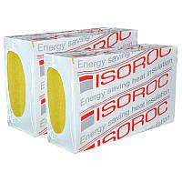 100мм Мінвата фасадна ISOROC 100мм вата фасад утеплення ціна за лист минвата Rockwool технониколь изоват