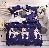 Комплект постельного белья My love, фиолетовый (двуспальный-евро) Berni