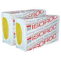 50мм Мінвата фасадна ISOROC 50мм вата фасад утеплення ціна за лист минвата Rockwool технониколь изоват