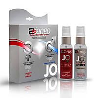 Комплект лубрикантов для пары JO 2-To-Tango Box