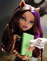 Кукла Monster High Клодин Вульф (Clawdeen Wolf) Чумовая Экскурсия Монстер Хай Школа монстров