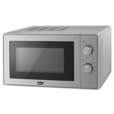 Микроволновая печь с грилем Beko MGC20100S - 20л./700Вт СВЧ + 800Вт гриль/механика/серебро