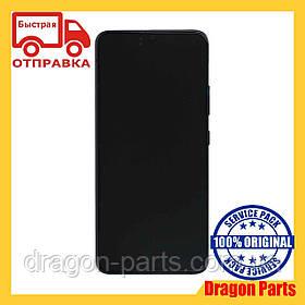 Дисплей Samsung A908 Galaxy A9 5G 2020 с сенсором Черный Black оригинал , GH82-21092A