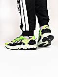 Мужские кроссовки в стиле Adidas Ozweego (Green/Black), Адидас Озвиго (Реплика ААА), фото 2