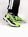 Мужские кроссовки в стиле Adidas Ozweego (Green/Black), Адидас Озвиго (Реплика ААА), фото 5