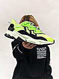 Мужские кроссовки в стиле Adidas Ozweego (Green/Black), Адидас Озвиго (Реплика ААА), фото 6