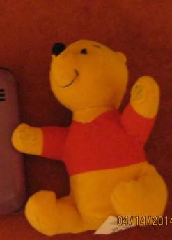 МЯГКАЯ игрушка ВИНИПУХ МАКДОНАЛЬДС  Winnie the Pooh Британия коллекция 2000 винни пух